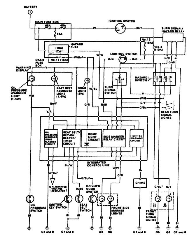 Wiring Diagrams Acura