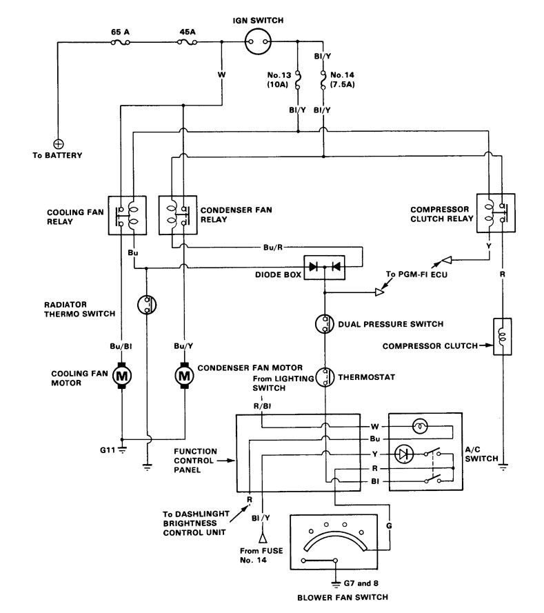 Acura Integra Wiring Diagram Hvac Control on 1987 Honda Accord Wiring Diagram