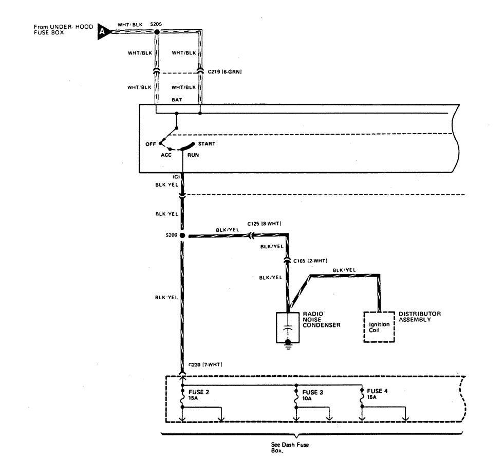 Acura Integra  1989  - Wiring Diagrams