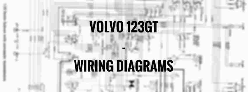 volvo 123 - wiring diagrams