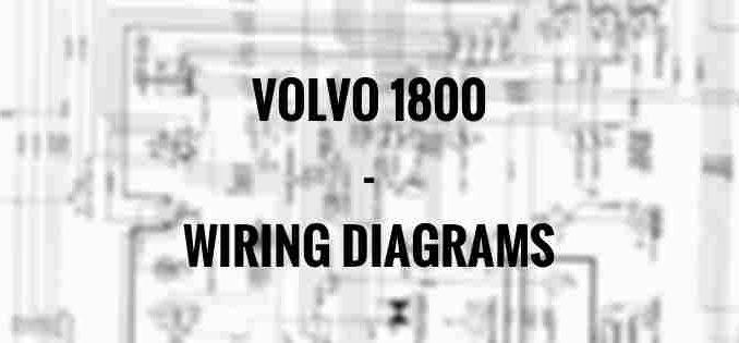 nissan ud 1800 wiring diagram volvo 1800 wiring diagrams carknowledge info  volvo 1800 wiring diagrams