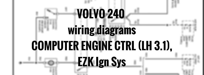 Volvo Computer Engine Crtl Ezk Igm Sys