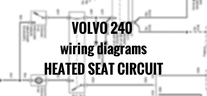 1994 volvo 940 fuse diagram