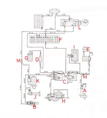 volvo 240 1975  wiring diagrams  cl fuel injection