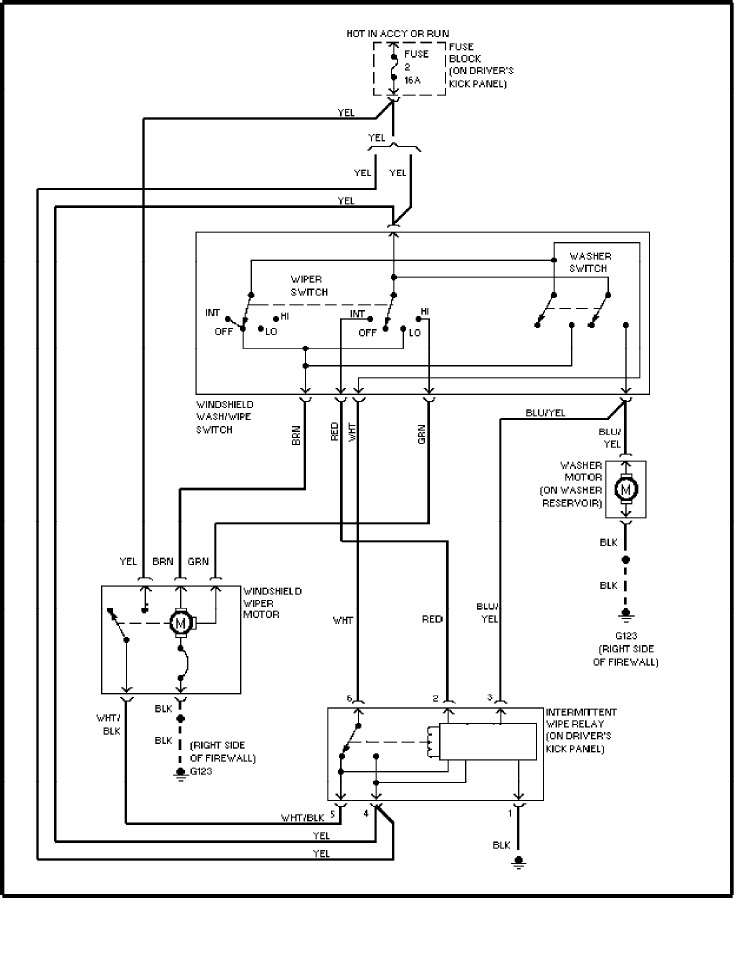 1990 volvo 240 alternator wiring diagram volvo 240 wiper wiring diagram