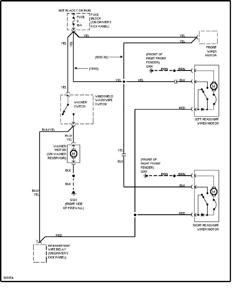 volvo 240 (1991 1993) wiring diagrams headlight washer wiper volvo fuse diagram volvo 240 (1991 1993) wiring diagrams headlight washer wiper circuit
