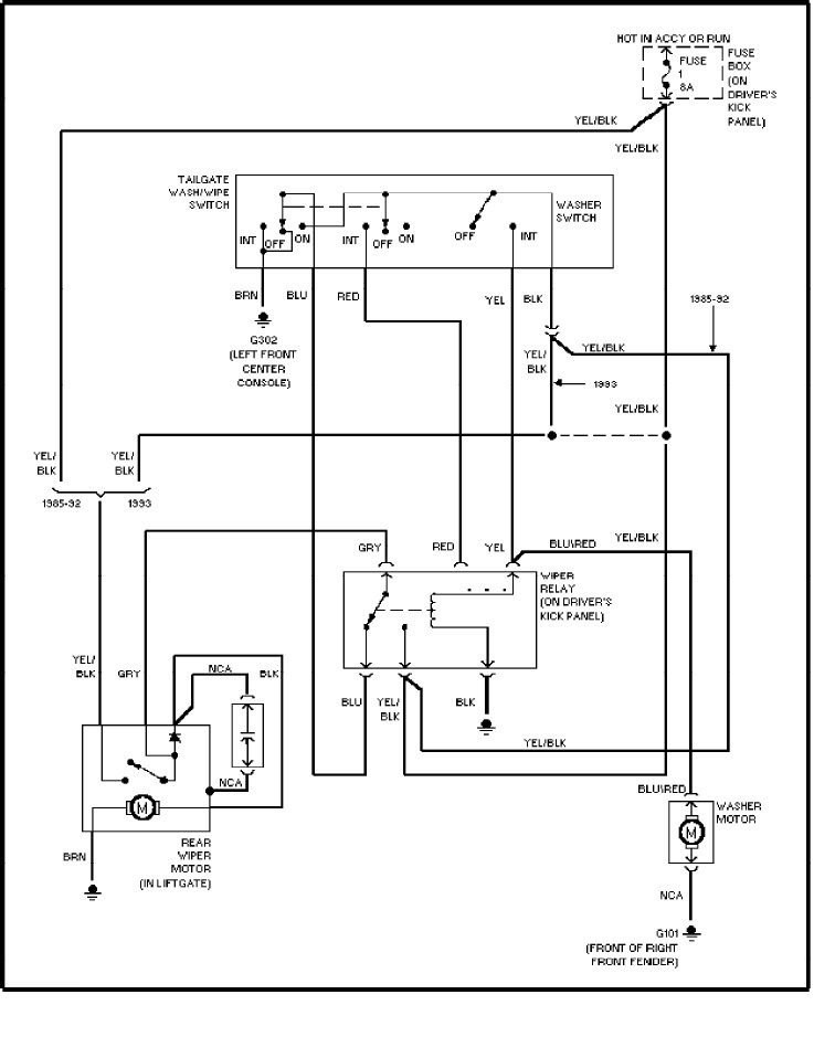 1991 Volvo 240 Wiring Diagram