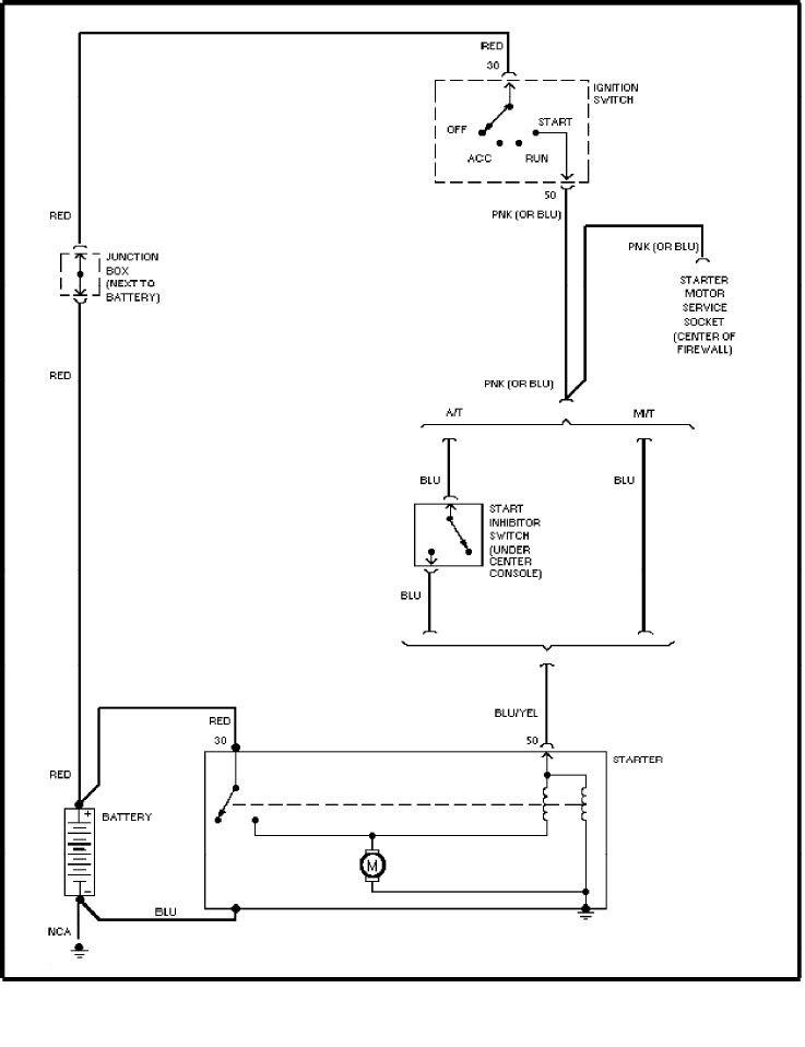 Volvo Wiring Diagrams Starting Circuit on 2004 Lexus 330 Fuse Box