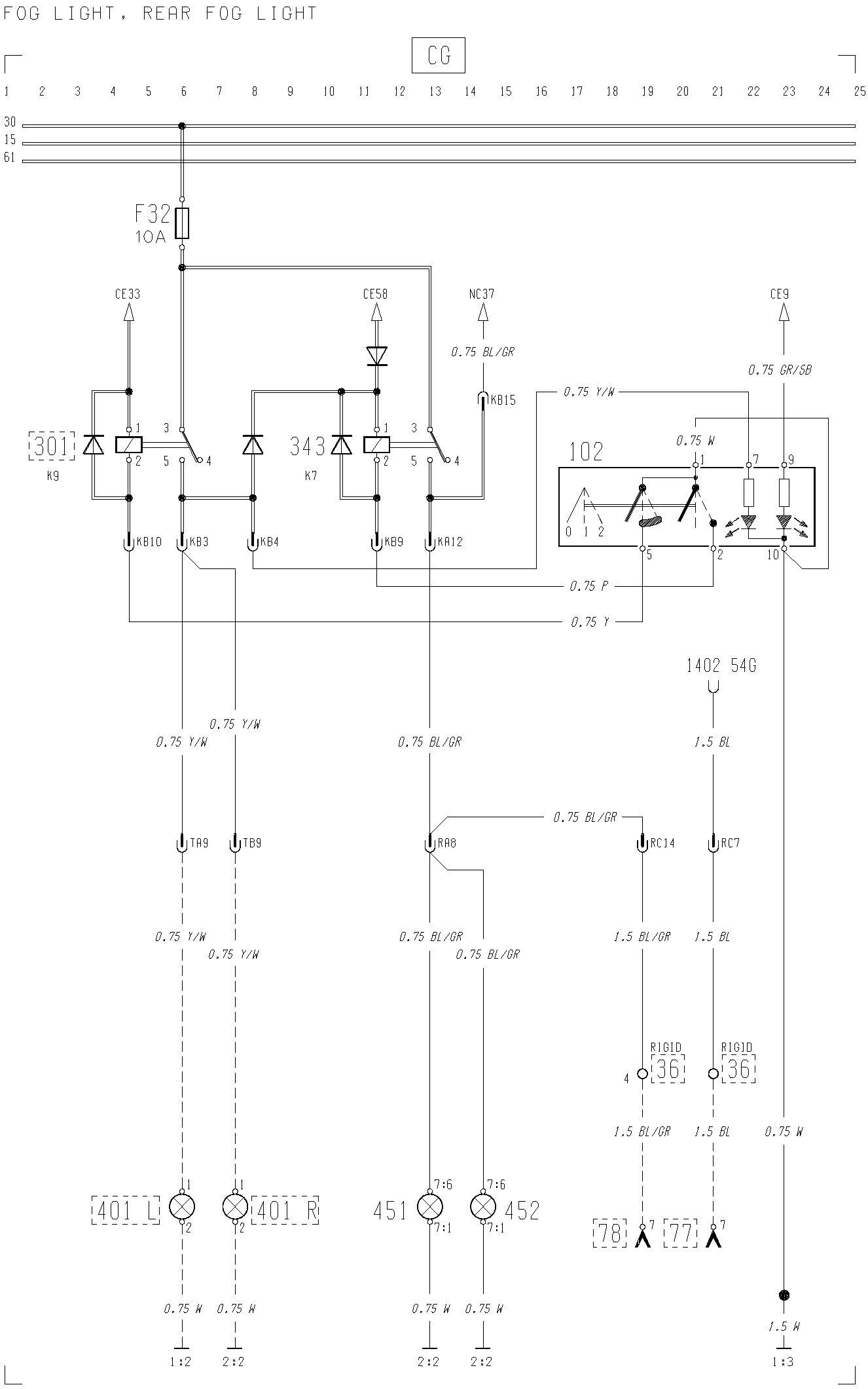 Excellent Volvo F12 F16 Wiring Diagram Fog Light Rear Fog Light Wiring 101 Swasaxxcnl