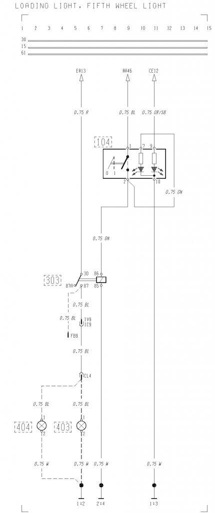 volvo f12 f16 wiring diagram loading light fifth wheel light rh carknowledge info 7 RV Blade Wiring Diagram Gulf Stream RV Wiring Diagram