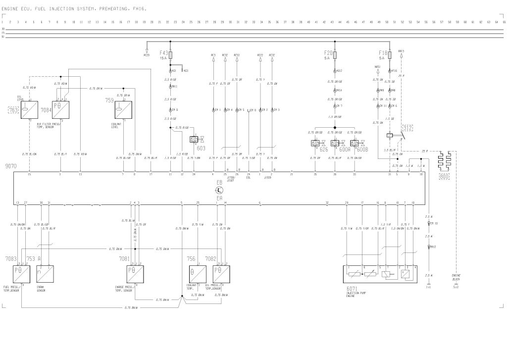 volvo f16 wiring diagram engine ecu, fuel injection, preheating f-16 maintenance volvo f16 wiring diagram engine ecu, fuel injection, preheating carknowledge