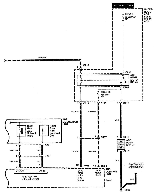 Acura Integra  2000 - 2001  - Wiring Diagrams