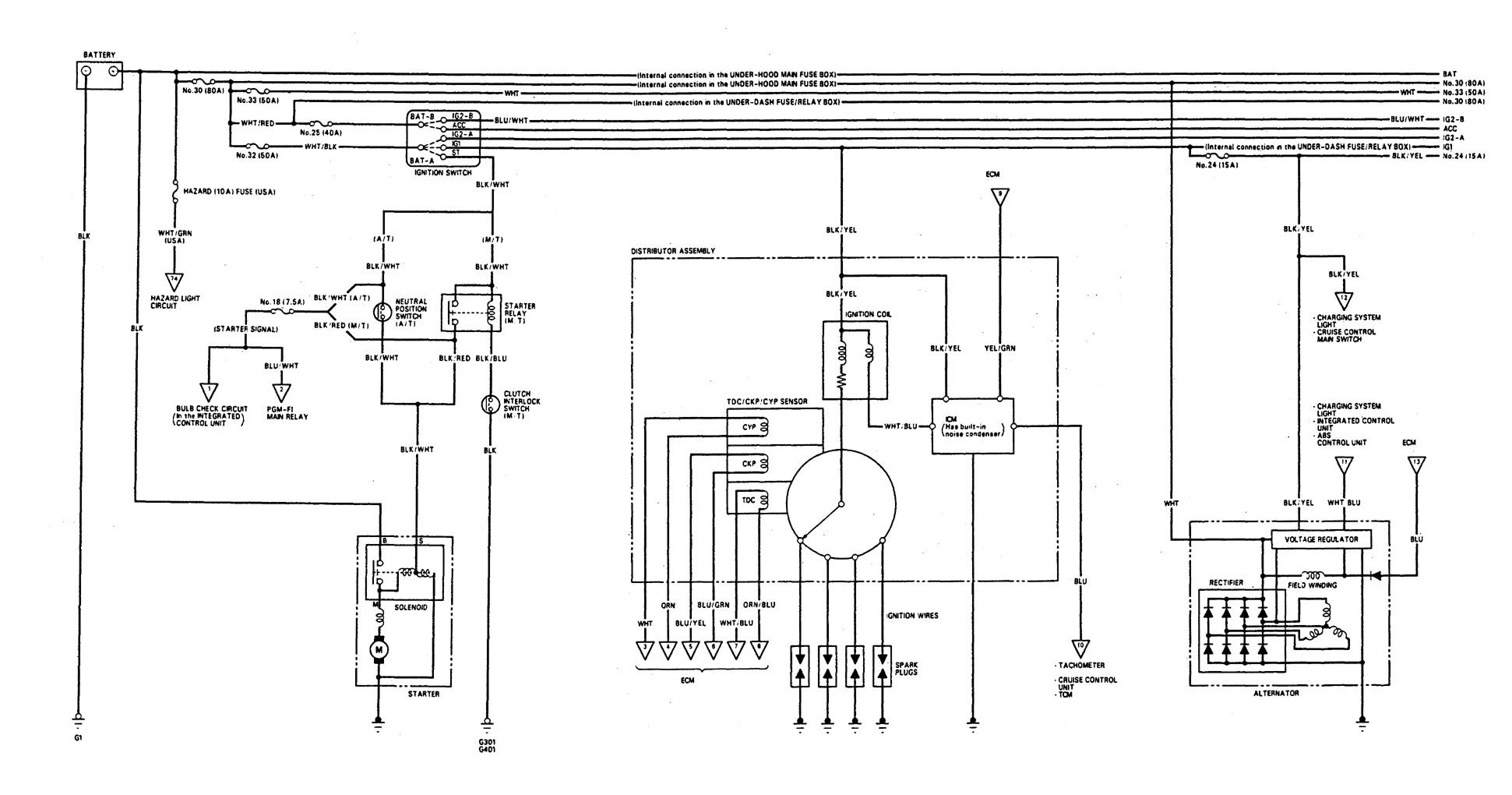 [DIAGRAM_38DE]  DIAGRAM] 92 Integra Wiring Diagrams FULL Version HD Quality Wiring Diagrams  - THROATDIAGRAM.SAINTMIHIEL-TOURISME.FR | Acura Alternator Wiring Diagram |  | Saintmihiel-tourisme.fr