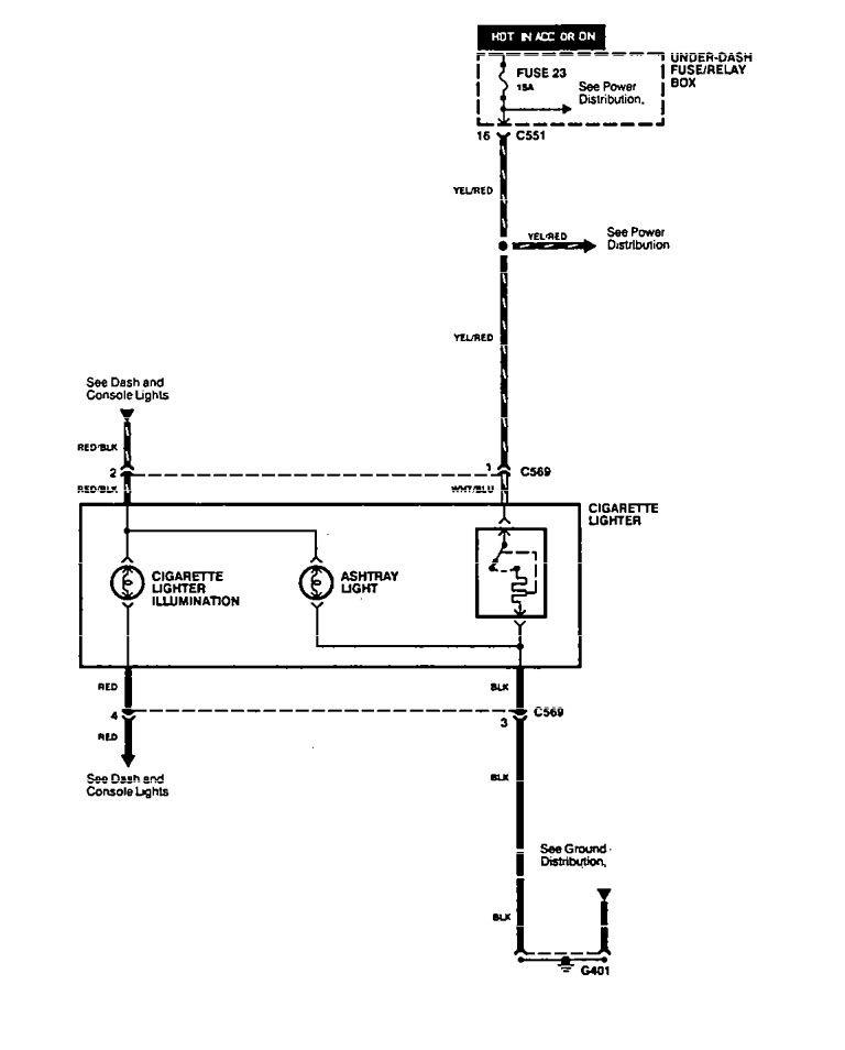 Acura Integra Wiring Diagram Cigar Lighter on 1996 Acura Rl Wiring Diagram