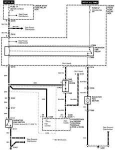 [ZTBE_9966]  Acura Integra (1998 - 2001) - wiring diagrams - cooling fans -  Carknowledge.info | 2001 Acura Integra Radiator Fan Wiring Diagram |  | Carknowledge.info