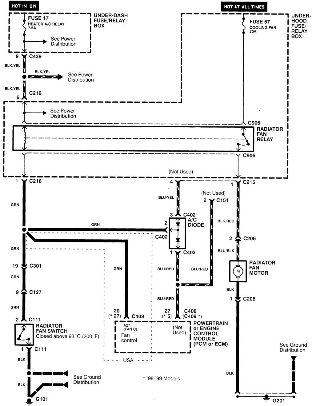 01 Integra Fuse Diagram Wiring Schematic Schematics Wiring Data \u2022 98  Integra Gsr Fuse Box Diagram