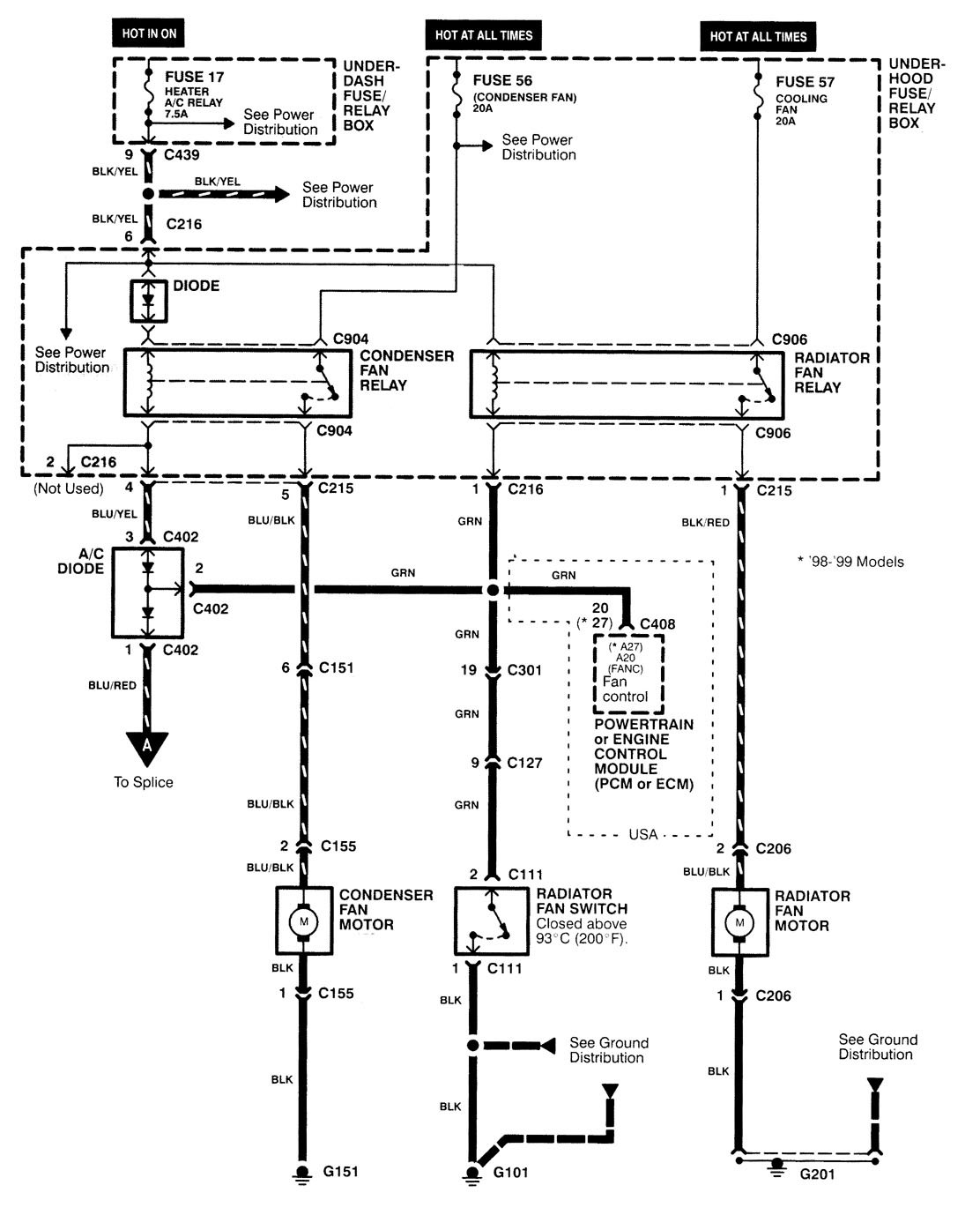 Chrysler fuse box wiring diagram and