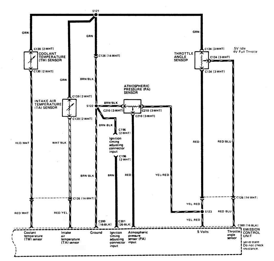 Acura Integra 1989 Wiring Diagrams Fuel Control Carknowledge Ac Diagram