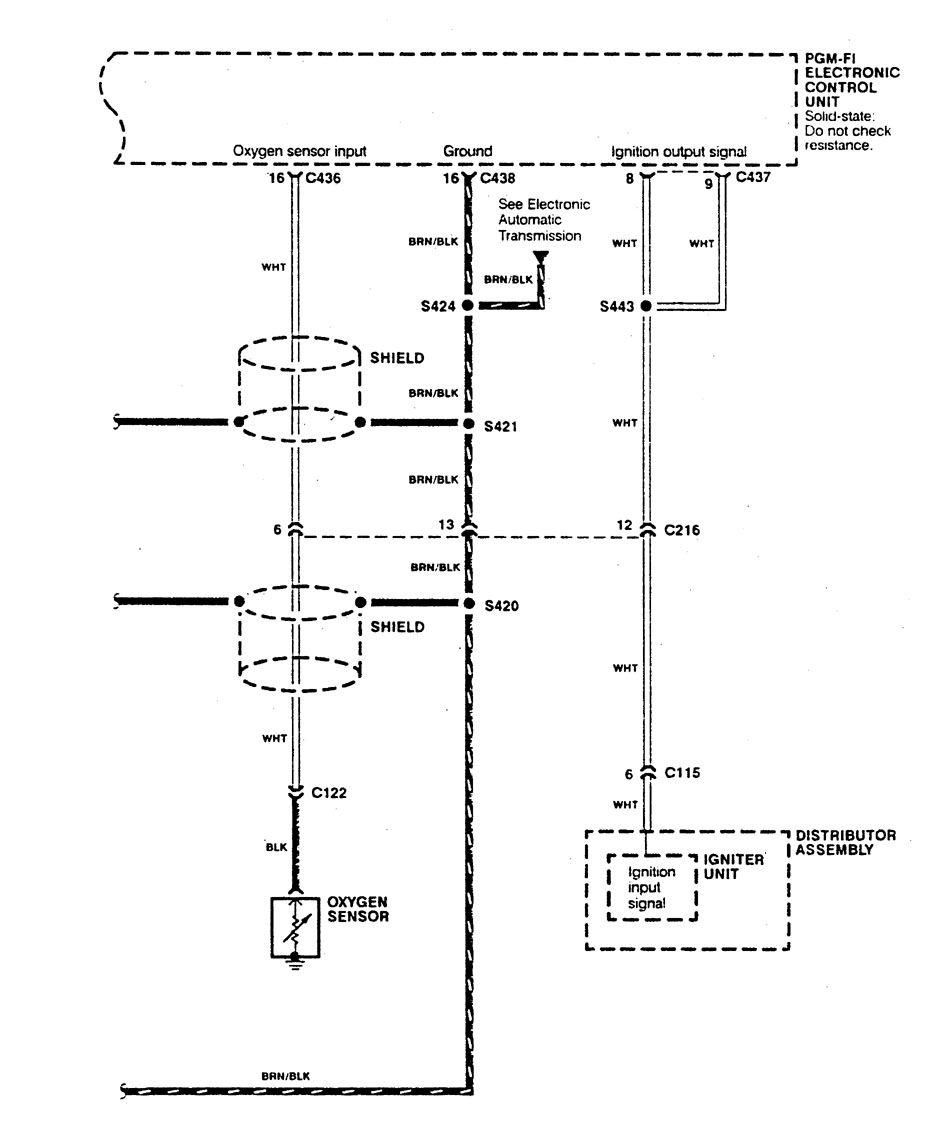 1990 Acura Integra Fuel Wiring Diagram Diagrams 91 Engine Control Gs 1991 Ignition