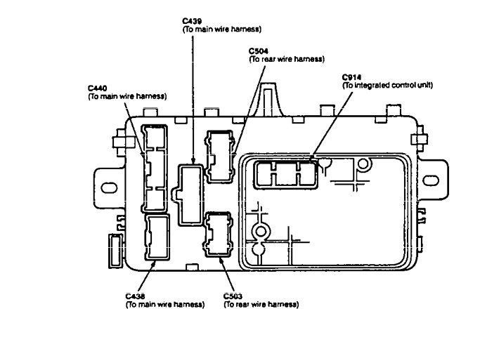 Acura Integra (1994 - 1997) - wiring diagrams - fuse block -  Carknowledge.infoCarknowledge.info