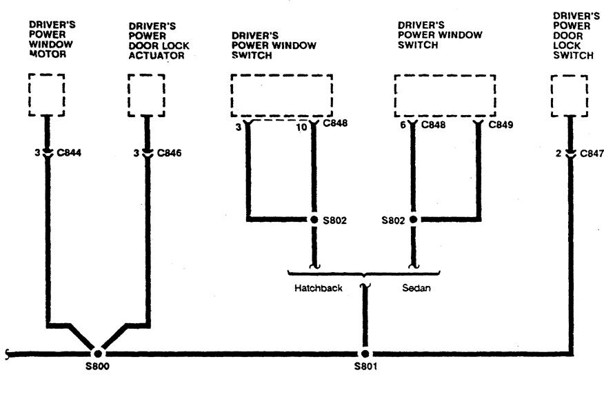 Acura Integra 1990 wiring diagrams ground distribution