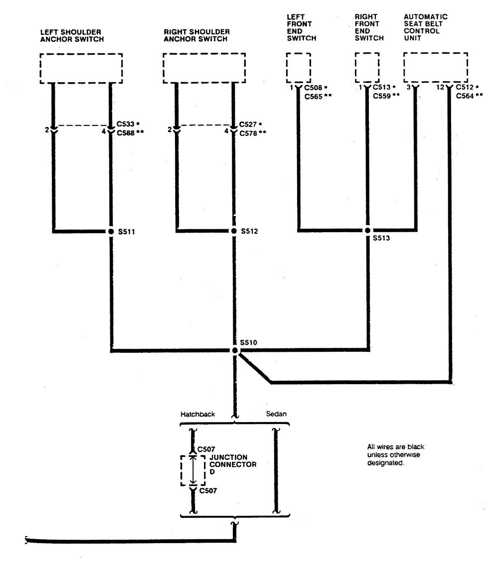 Integra Fuse Box Ground Electrical Wiring Diagrams Diagram For 2000 Acura 1990 Distribution Tl