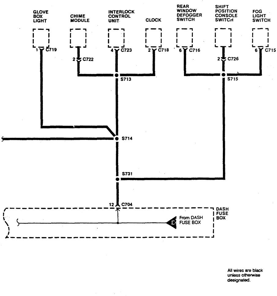 Acura Integra 1990 Wiring Diagrams Ground Distribution Diagram