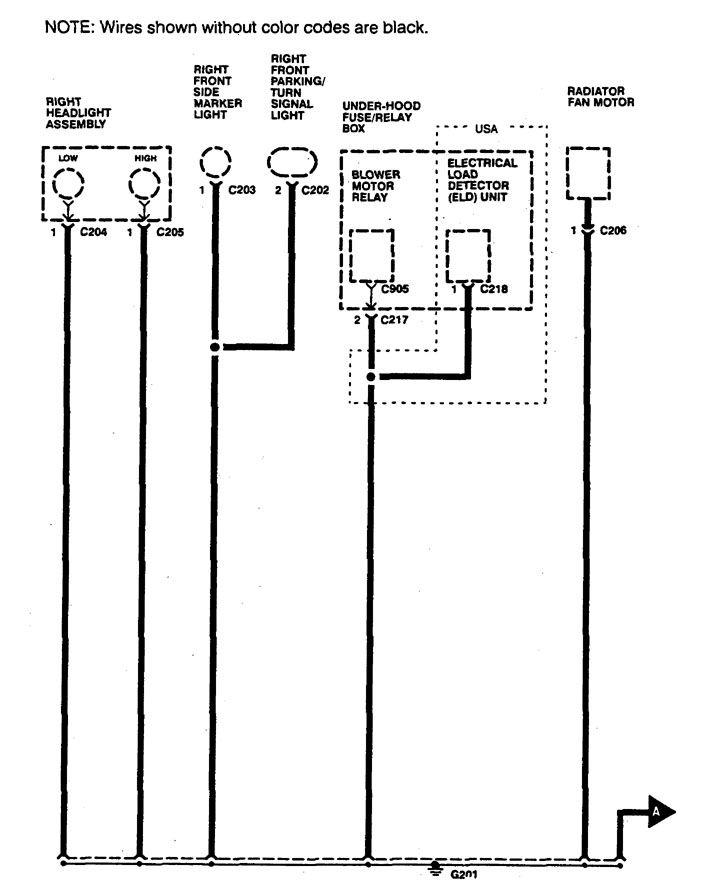 1995 Acura Integra Wiring Diagram
