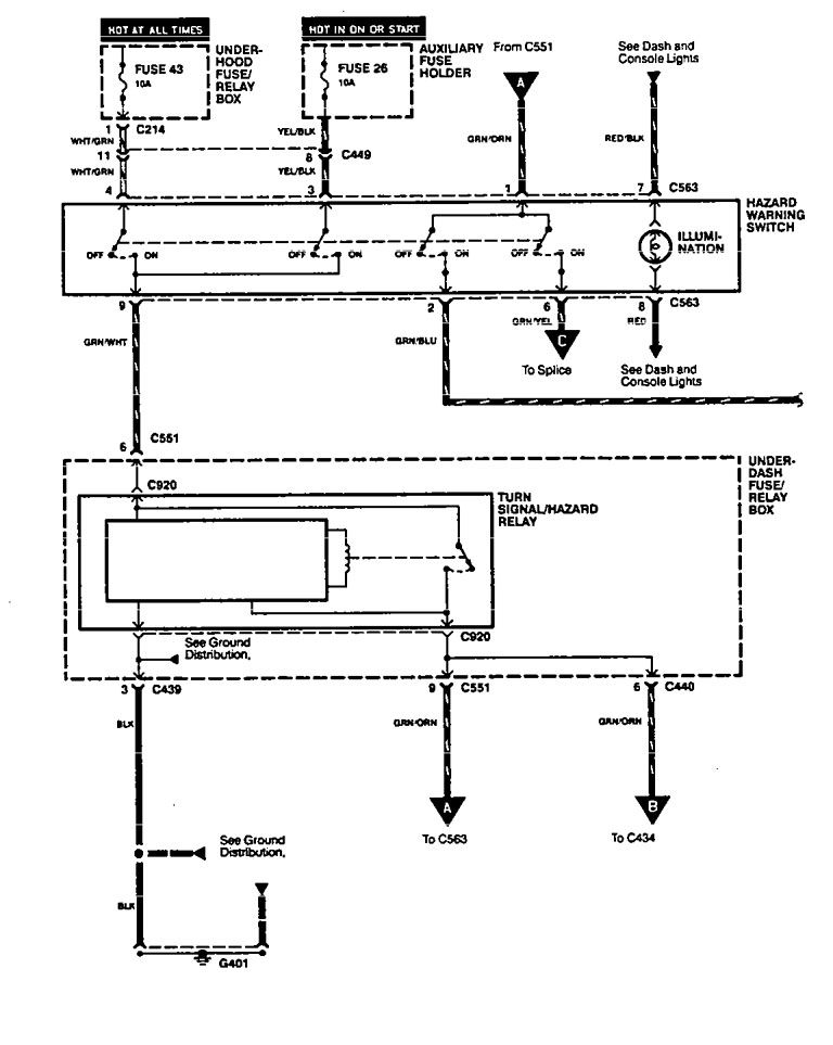 94 Integra Fuse Diagram