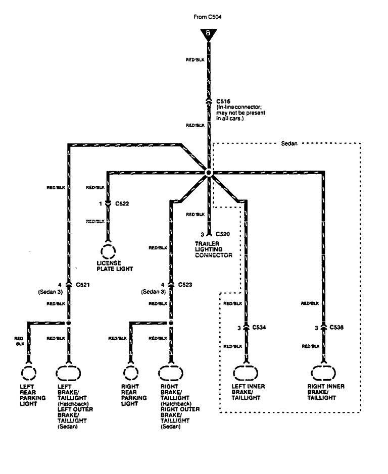acura integra  1994 - 1997  - wiring diagrams