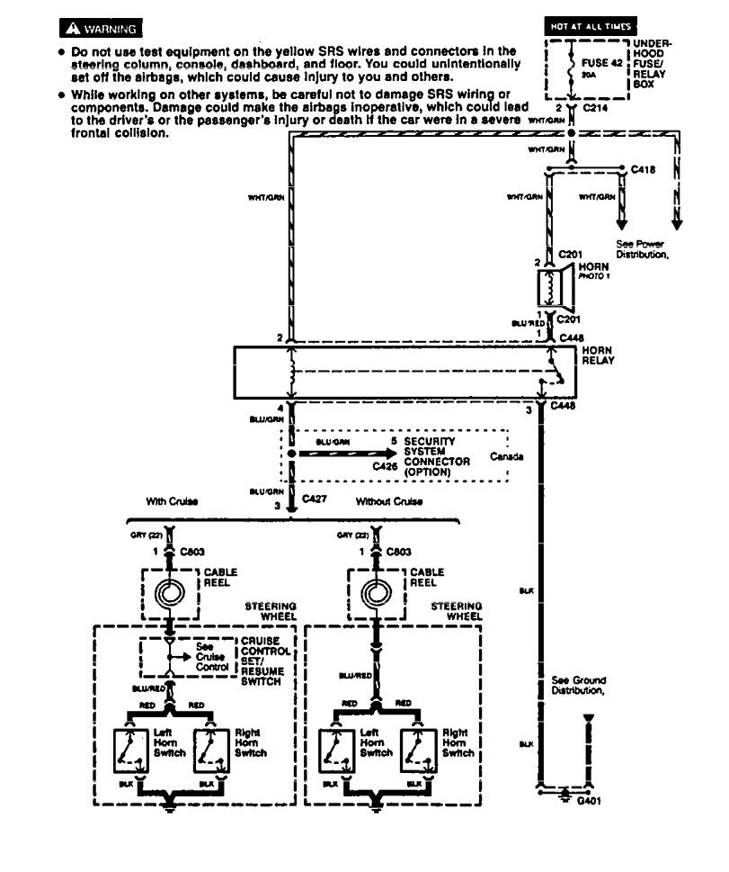 Acura Integra Wiring Diagram Horn