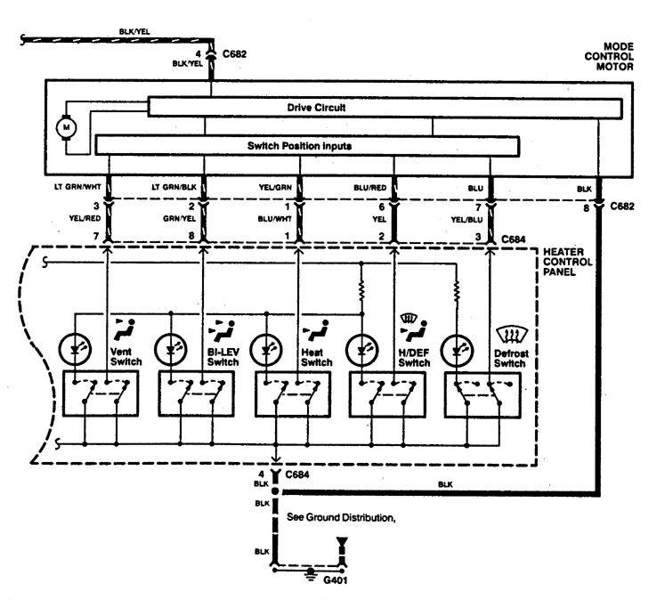 Acura Integra  1994  - Wiring Diagrams