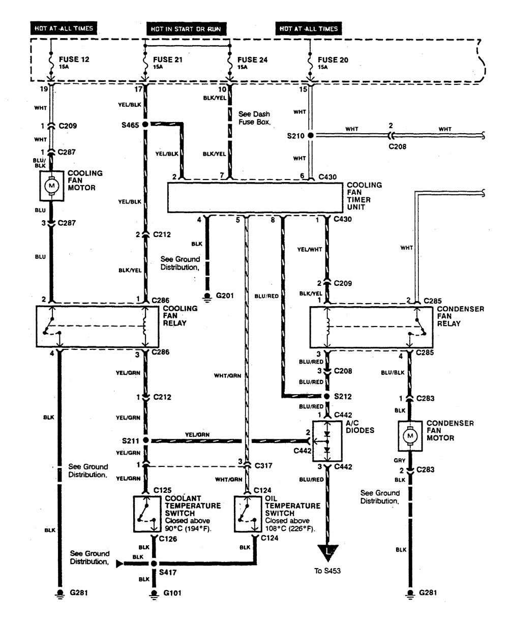 Acura Integra 1990 Wiring Diagrams Hvac Control Carknowledge Diagram