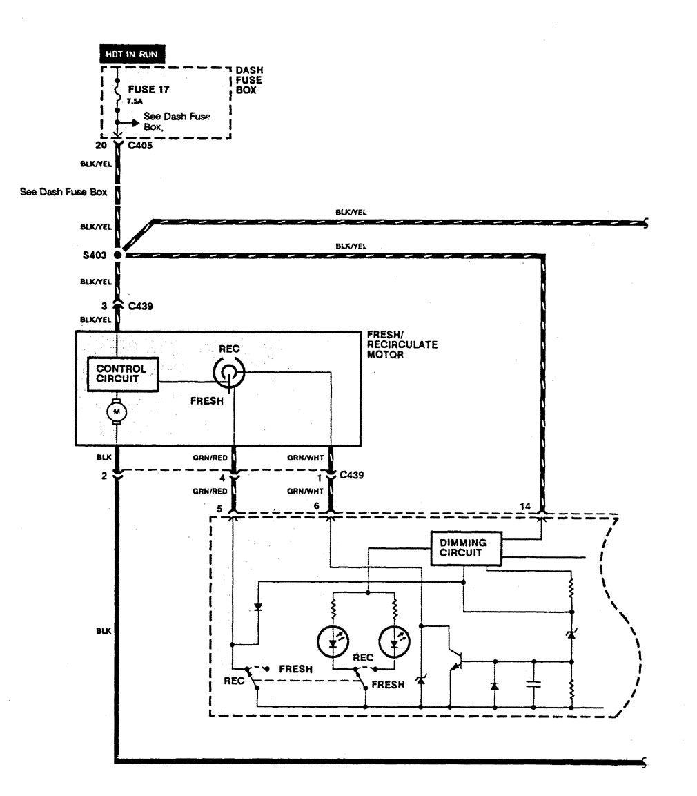 1990 Integra Wiring Diagram Library 1994 Acura Fuse Hvac Control Hot In Run