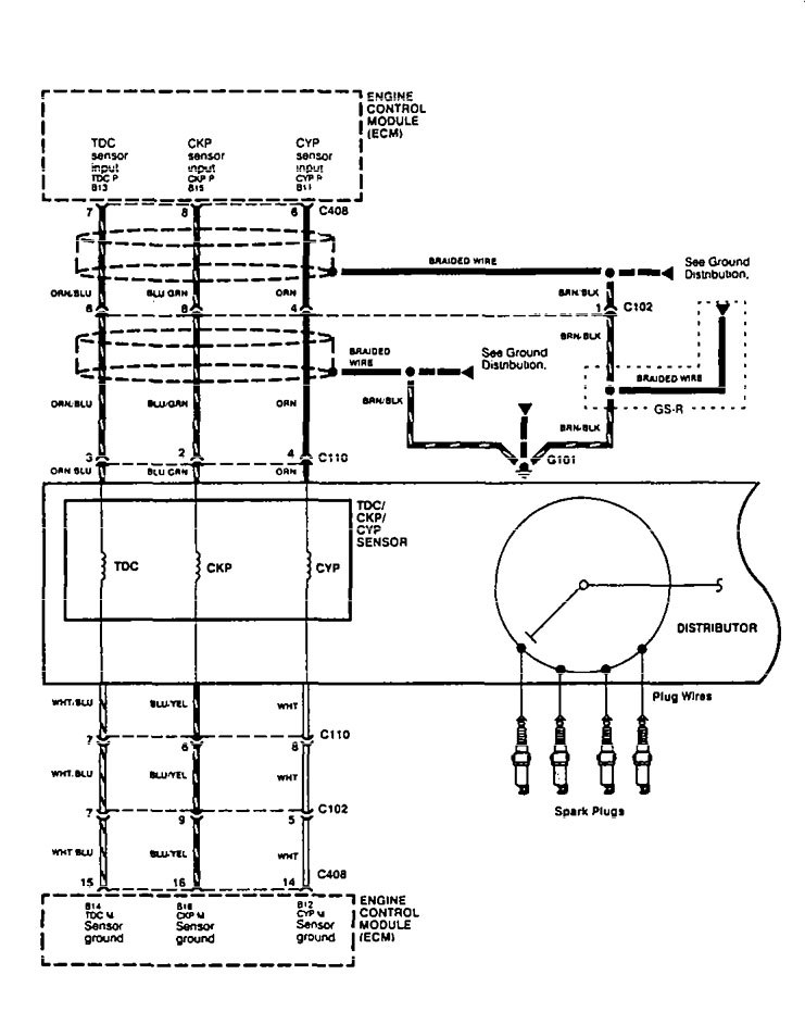 1995 Acura Integra Distributor Wiring Diagram on 1991 Acura Integra Ls Wiring Diagrams