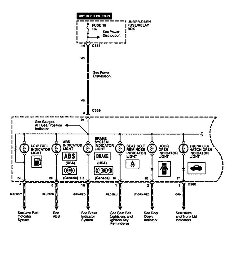 Acura Integra Instrument Cluster Wiring Diagram