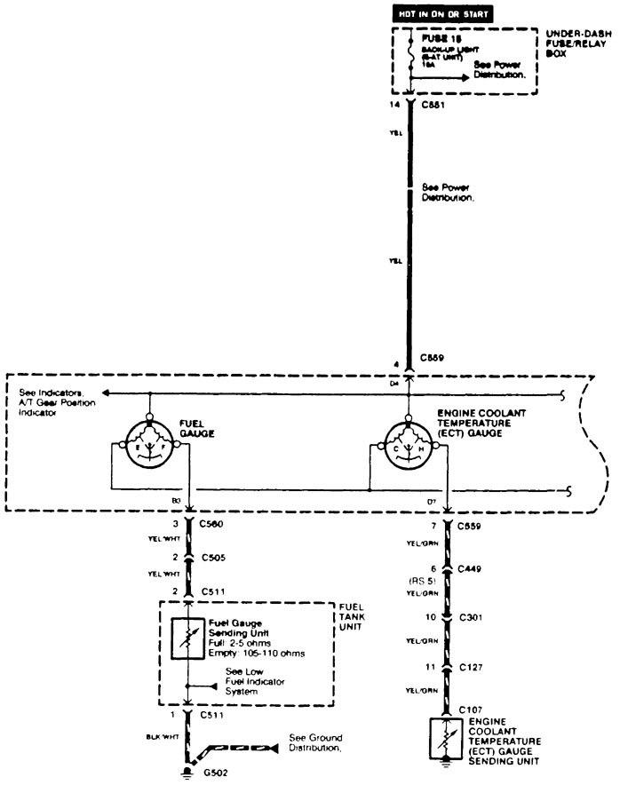 Swell Sending Unit Wiring Diagram Acura Integra Acura Integra Rear Wiring Database Lotapmagn4X4Andersnl