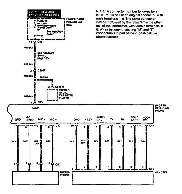 acura integra 1996 1997 wiring diagrams mobile. Black Bedroom Furniture Sets. Home Design Ideas