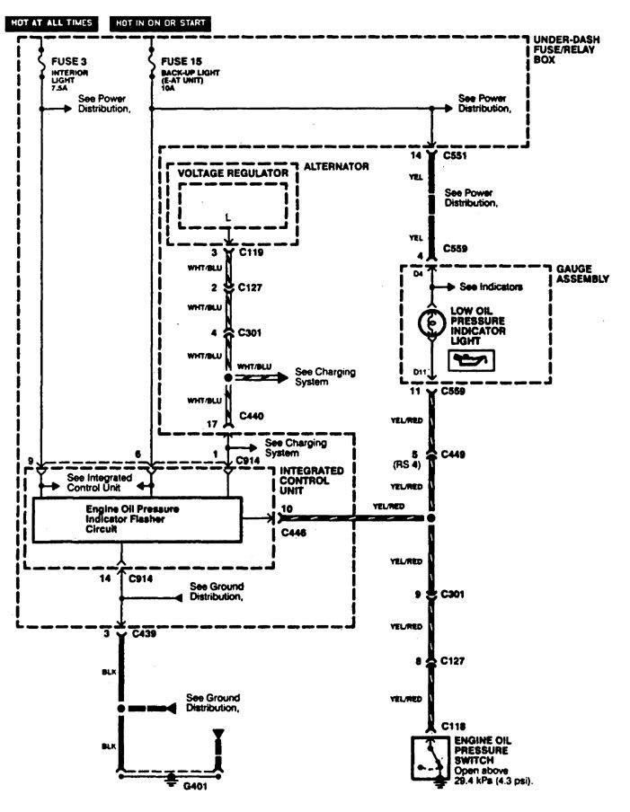 Acura Integra Alternator Wiring Diagram Schematic Diagram