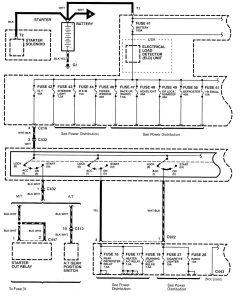 acura integra 1998 2001 wiring diagrams power distribution acura integra wiring diagram power distribution part 1