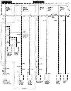acura integra 1998 2001 wiring diagrams power distribution acura integra wiring diagram power distribution part 3