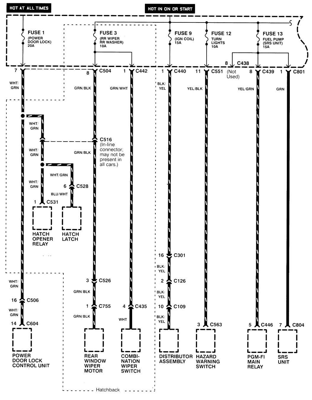 1998 Acura Wiring Diagram Diagrams Slx Images Gallery