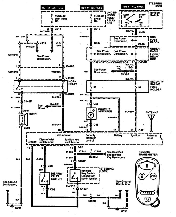 acura integra  1997  - wiring diagrams  anti