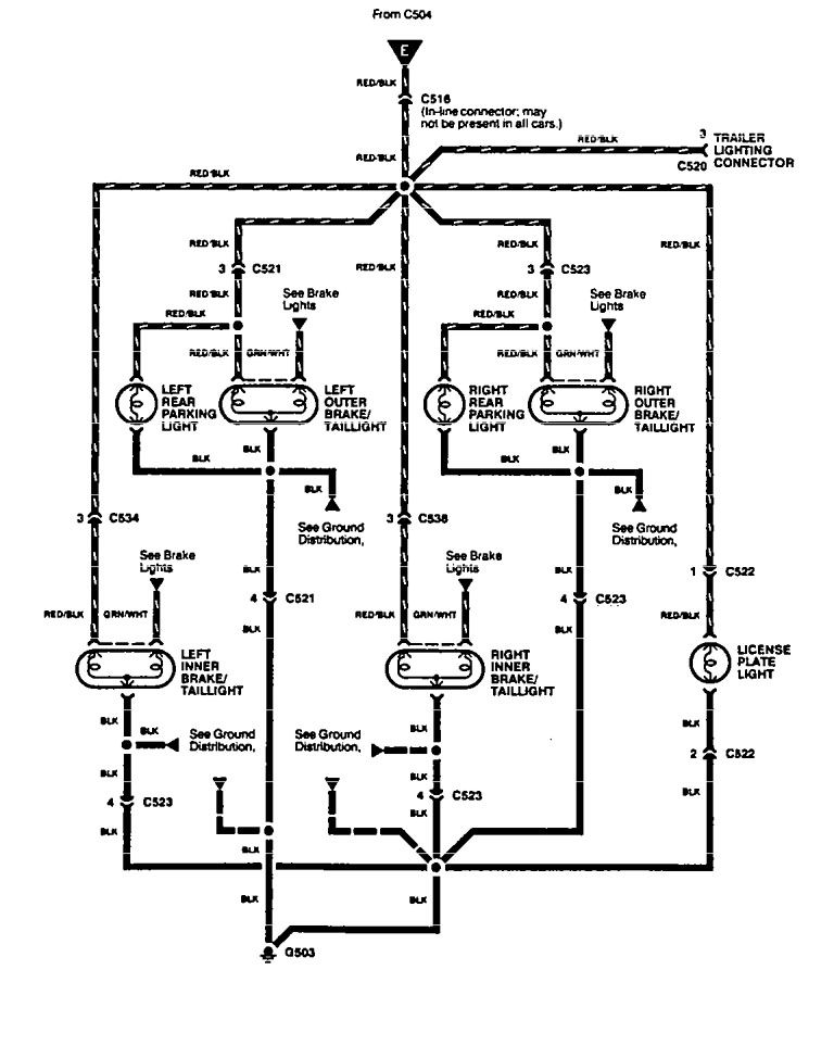 Acura Integra (1994) - wiring diagrams - tail lamp - Carknowledge.info | Acura Integra Wiring Diagram For Tail Lights |  | Carknowledge.info