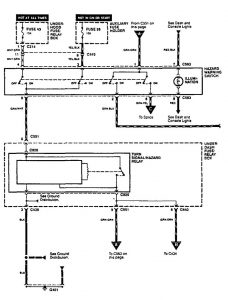 Acura Integra (1996 - 1997) - wiring diagrams - turn signal lamp -  Carknowledge.info | Acura Integra Turn Signal Wiring Diagram |  | Carknowledge.info