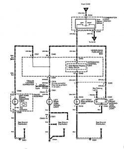 acura integra  1996 - 1997  - wiring diagrams