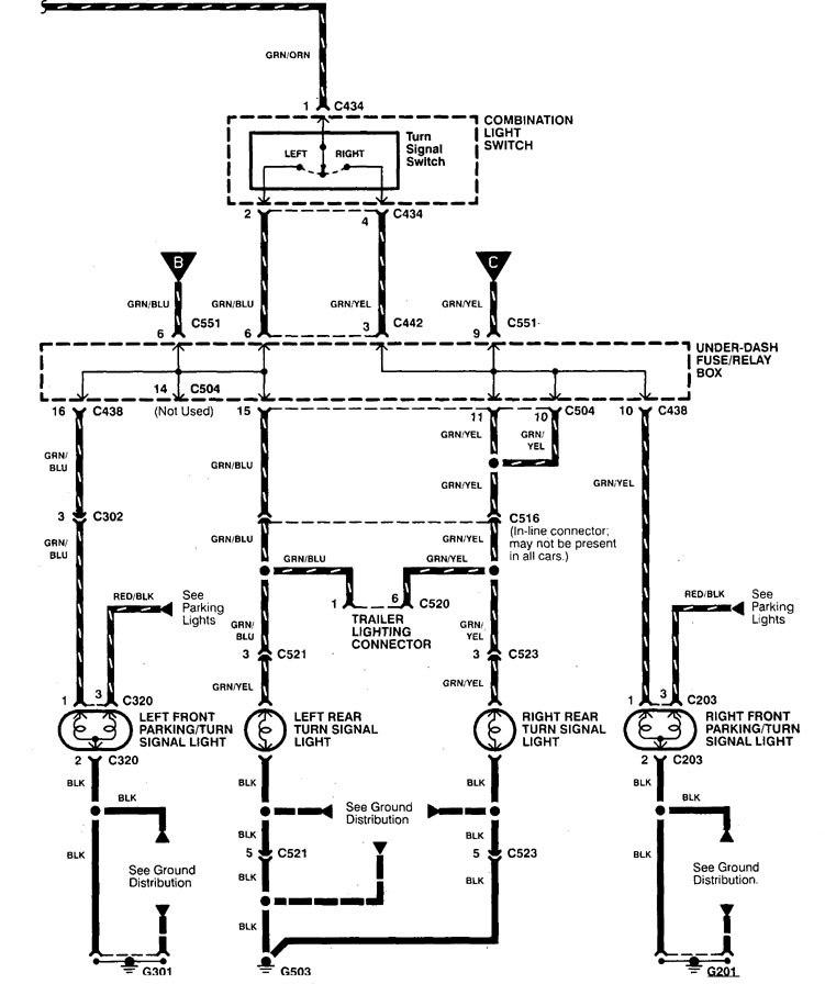 01 integra fuse diagram wiring schematic  schematic