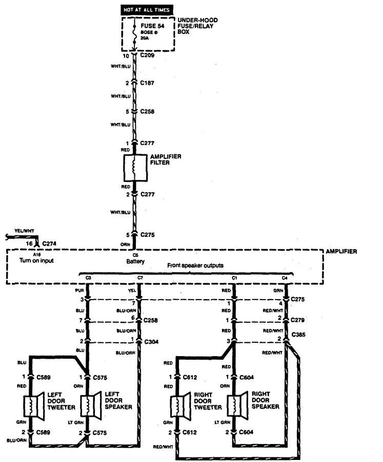 Acura Legend 1994 Wiring Diagram Audio Carknowledge