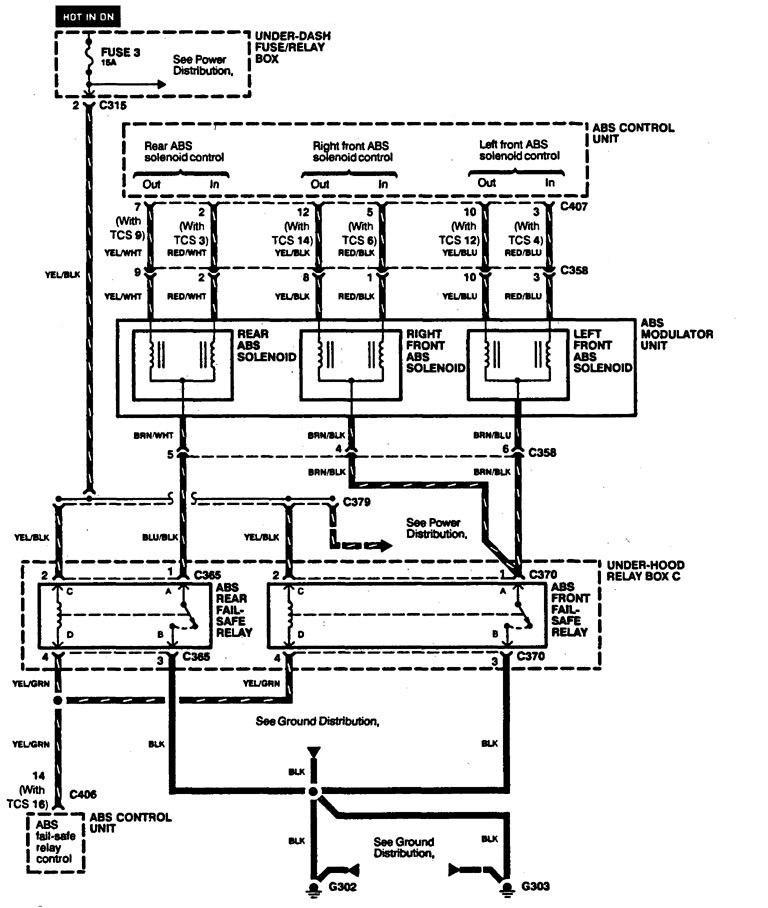 Acura legend wiring diagram brake control