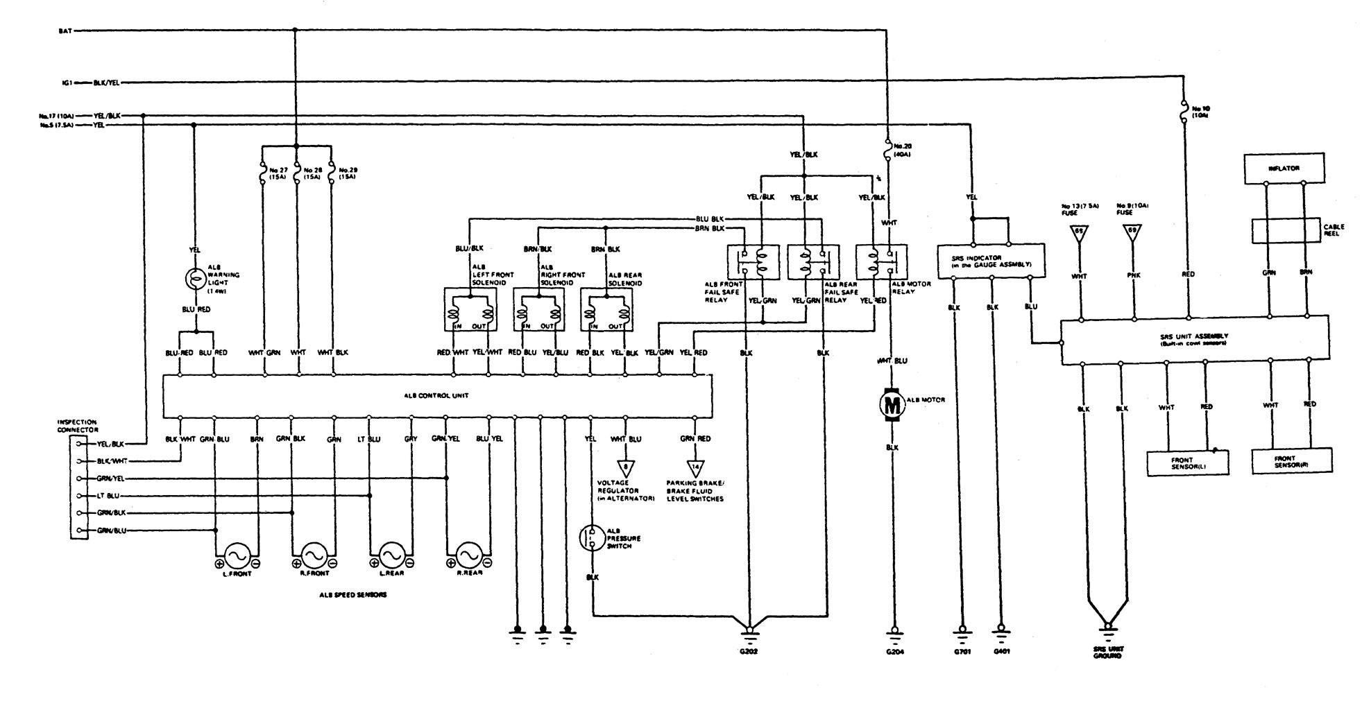 [DIAGRAM_38YU]  Acura Legend (1989) - wiring system - brake control - Carknowledge.info | 1989 Acura Legend Wiring Diagram |  | Carknowledge.info